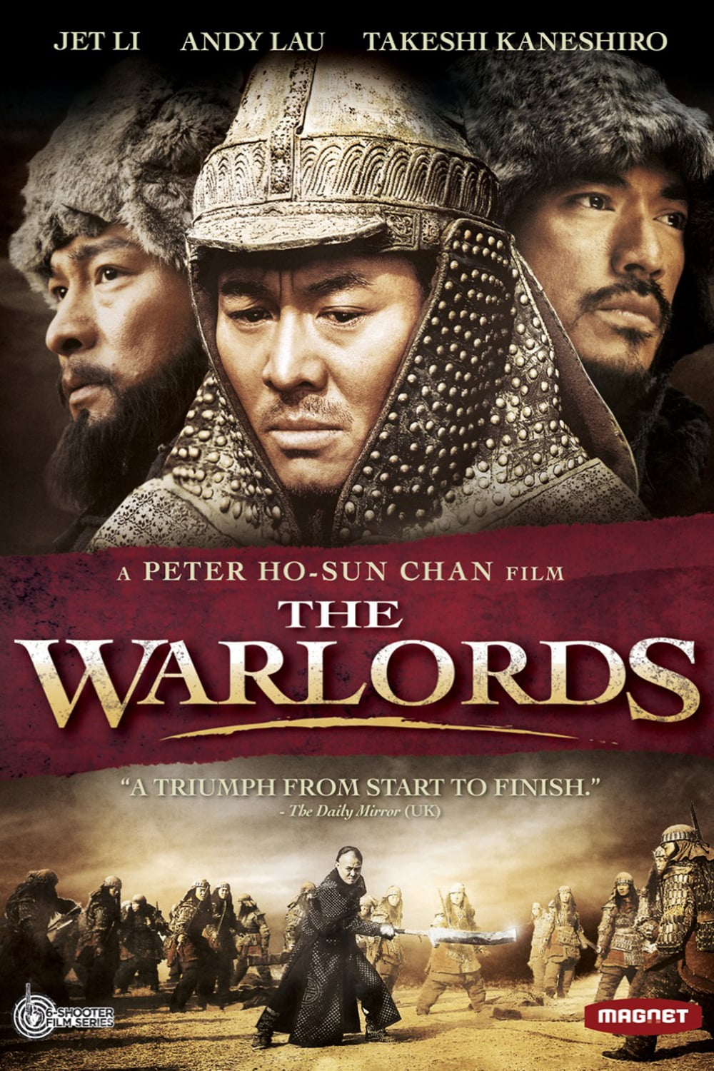 "Poster for the movie ""The Warlords"""