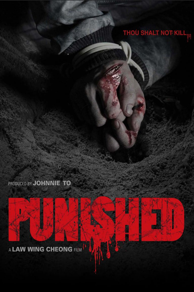 "Poster for the movie ""Punished"""
