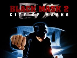 """Poster for the movie """"Black Mask II"""""""