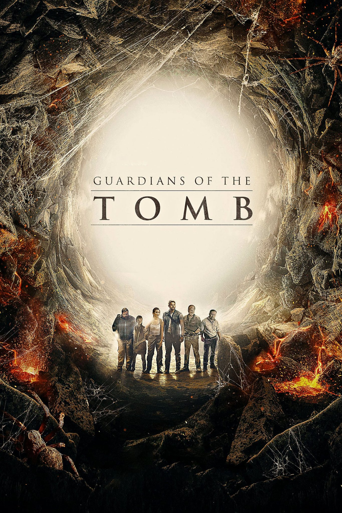"""Poster for the movie """"Guardians of the Tomb"""""""