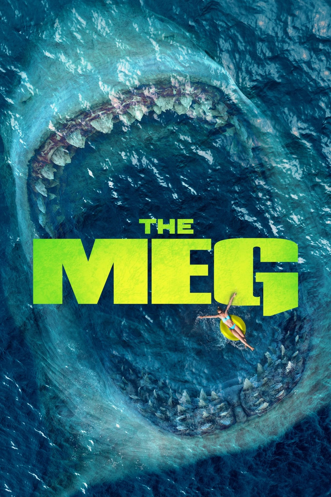 "Poster for the movie ""The Meg"""