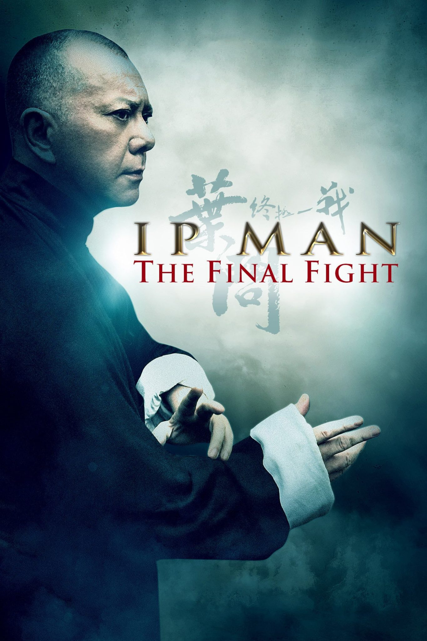 "Poster for the movie ""Ip Man: The Final Fight"""