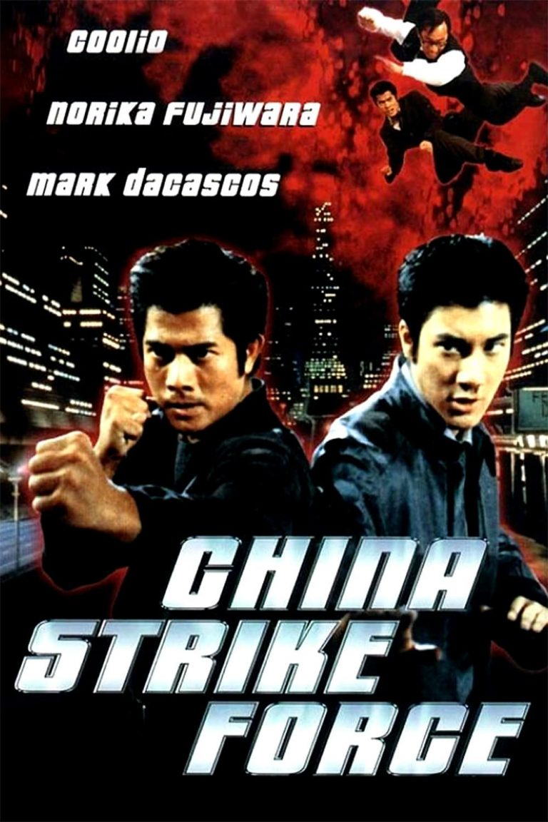 "Poster for the movie ""China Strike Force"""