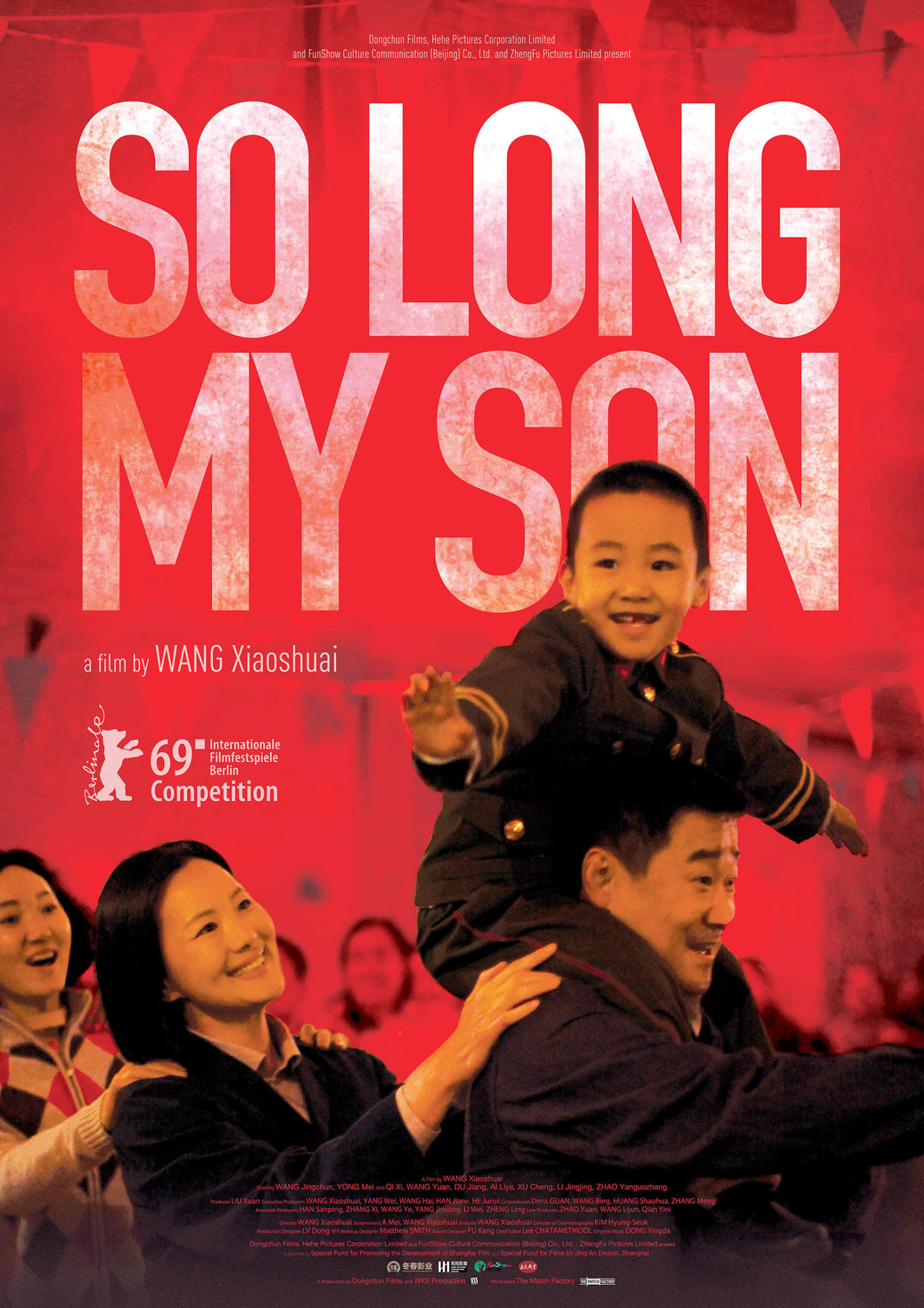 "Poster for the movie ""So Long, My Son"""