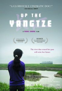 "Poster for the movie ""Up the Yangtze"""