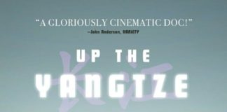 """Poster for the movie """"Up the Yangtze"""""""