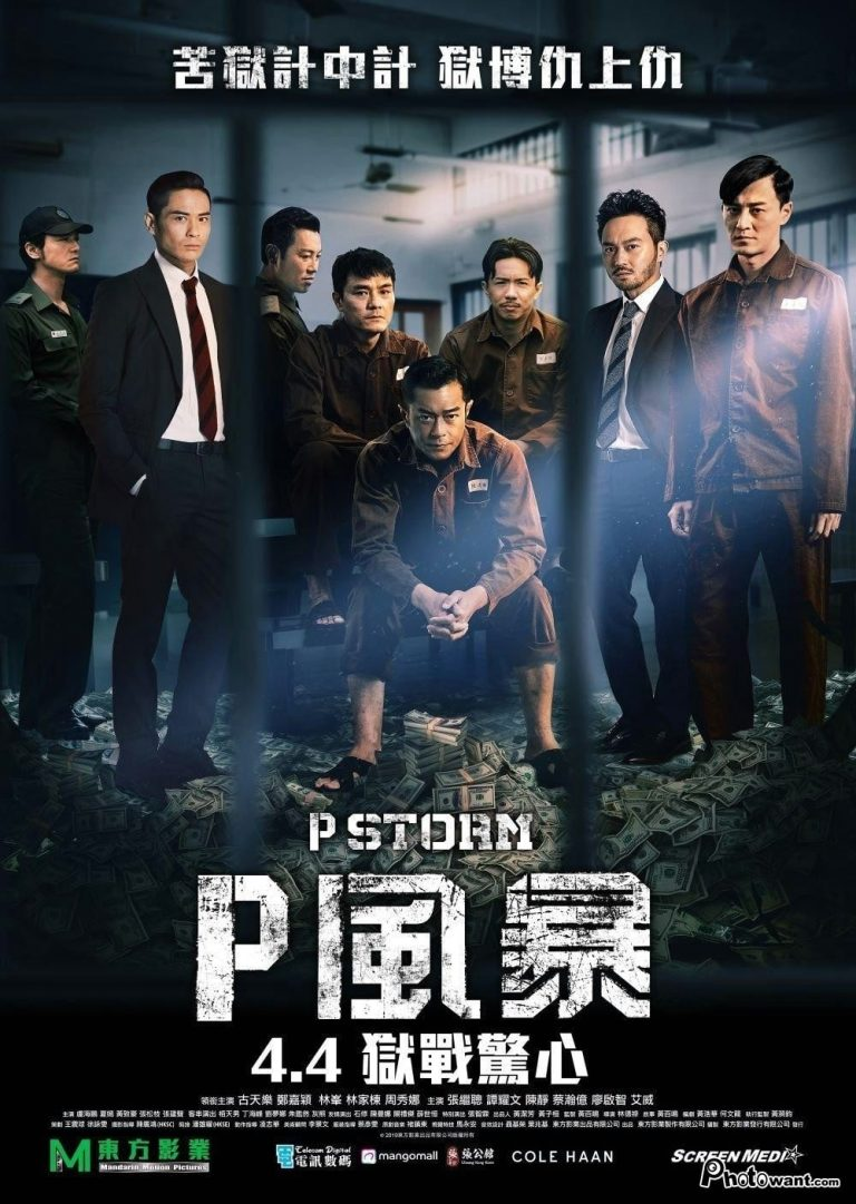 "Poster for the movie ""P Storm"""