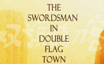 "Poster for the movie ""The Swordsman in Double Flag Town"""