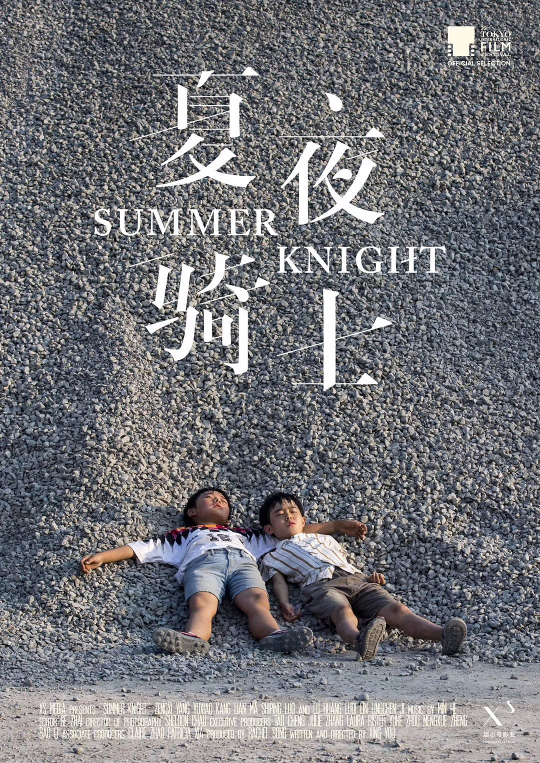 "Poster for the movie ""Summer Knight"""