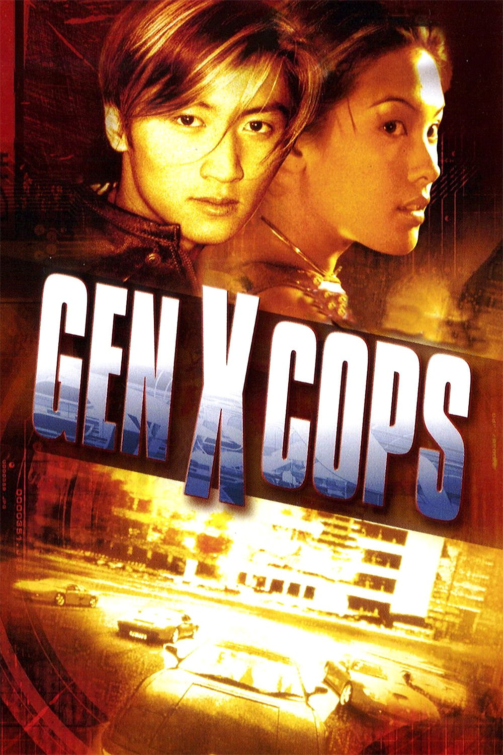 "Poster for the movie ""Gen-X Cops"""