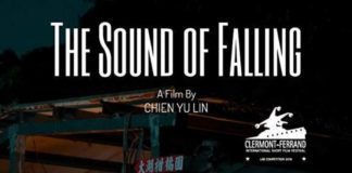 """Poster for the movie """"The Sound of Falling"""""""