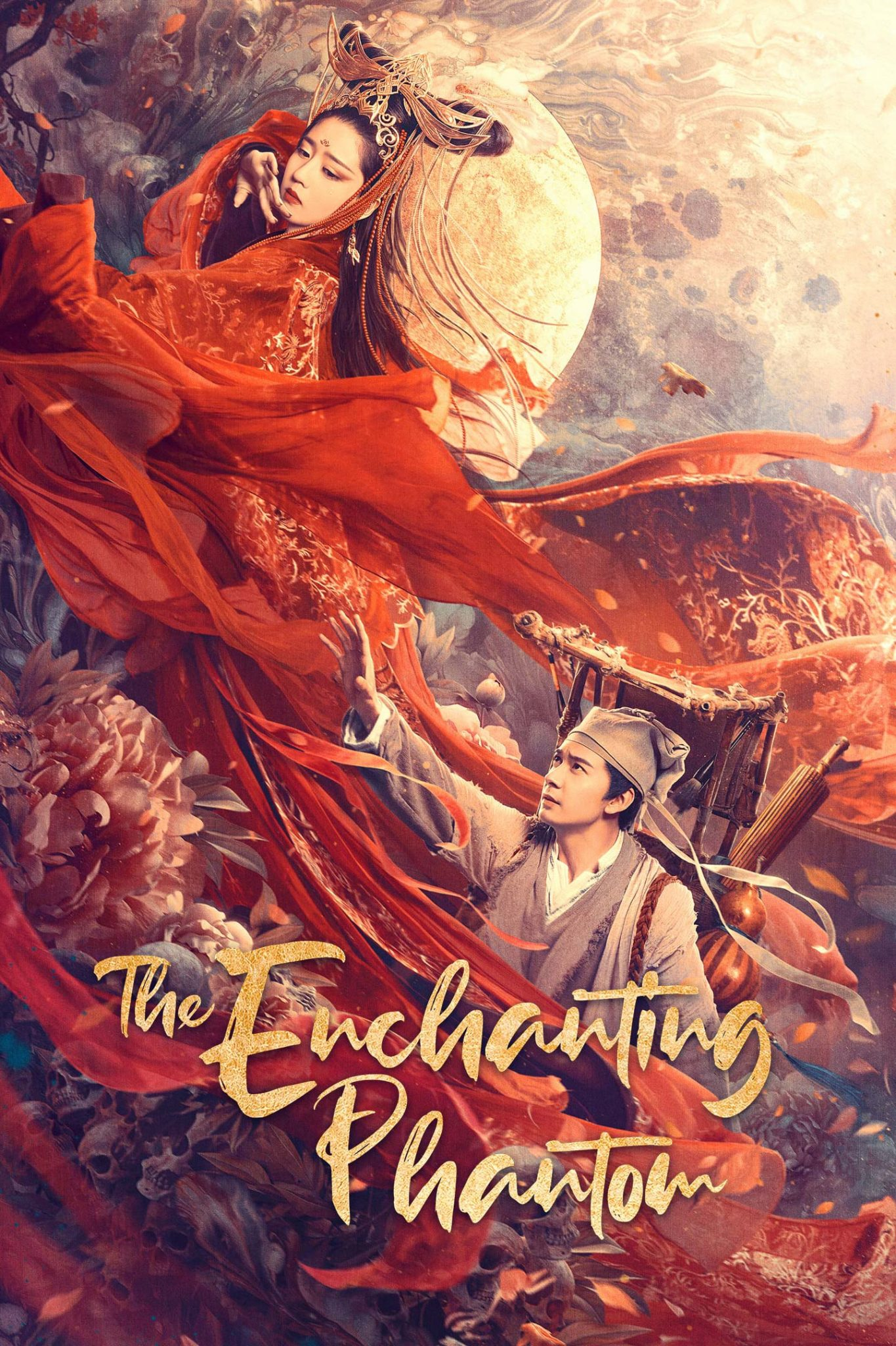 "Poster for the movie ""The Enchanting Phantom"""