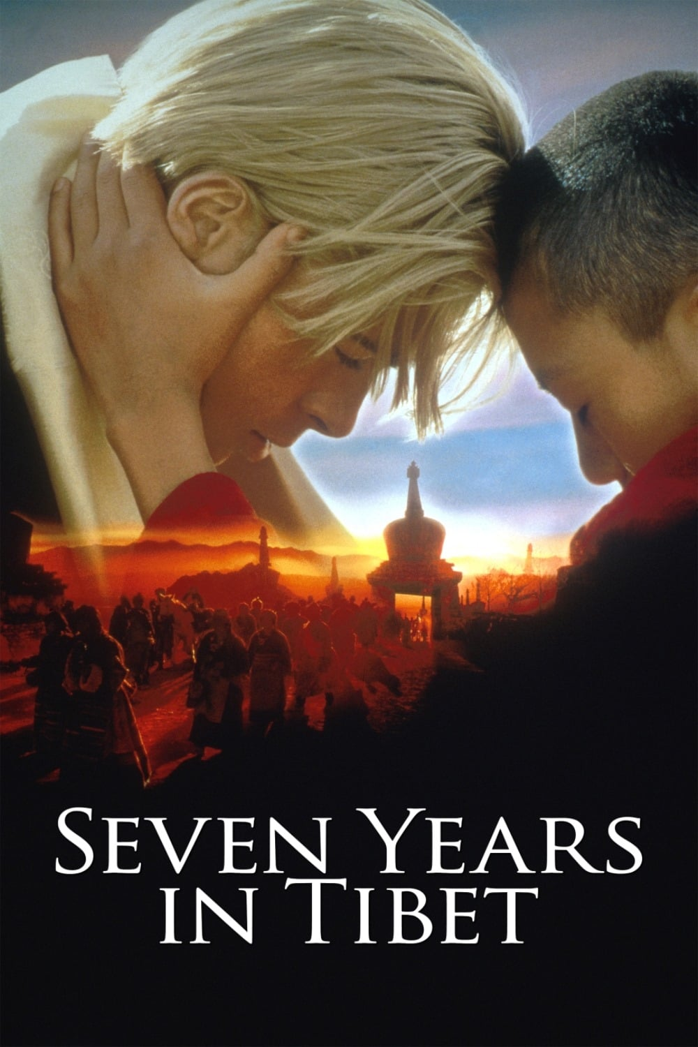 "Poster for the movie ""Seven Years in Tibet"""