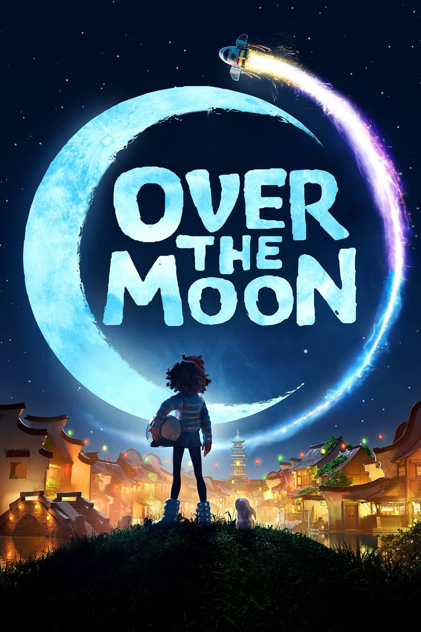 """Poster for the movie """"Over the Moon"""""""