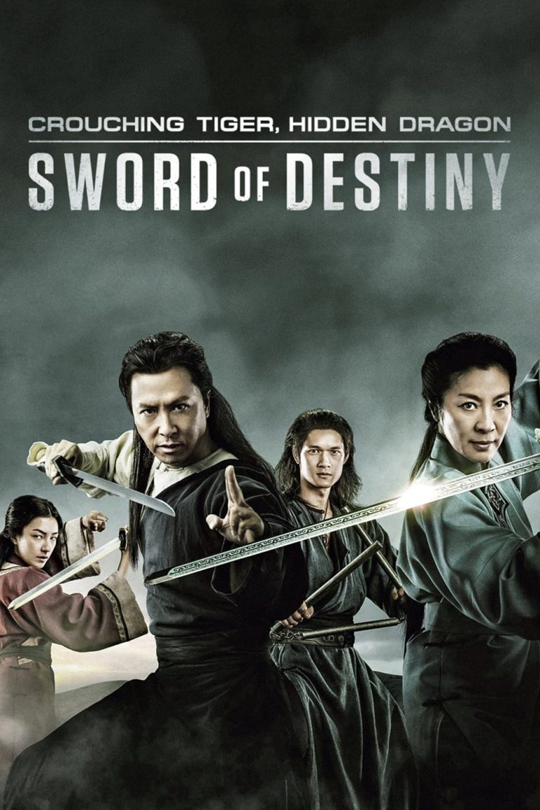 "Poster for the movie ""Crouching Tiger, Hidden Dragon: Sword of Destiny"""