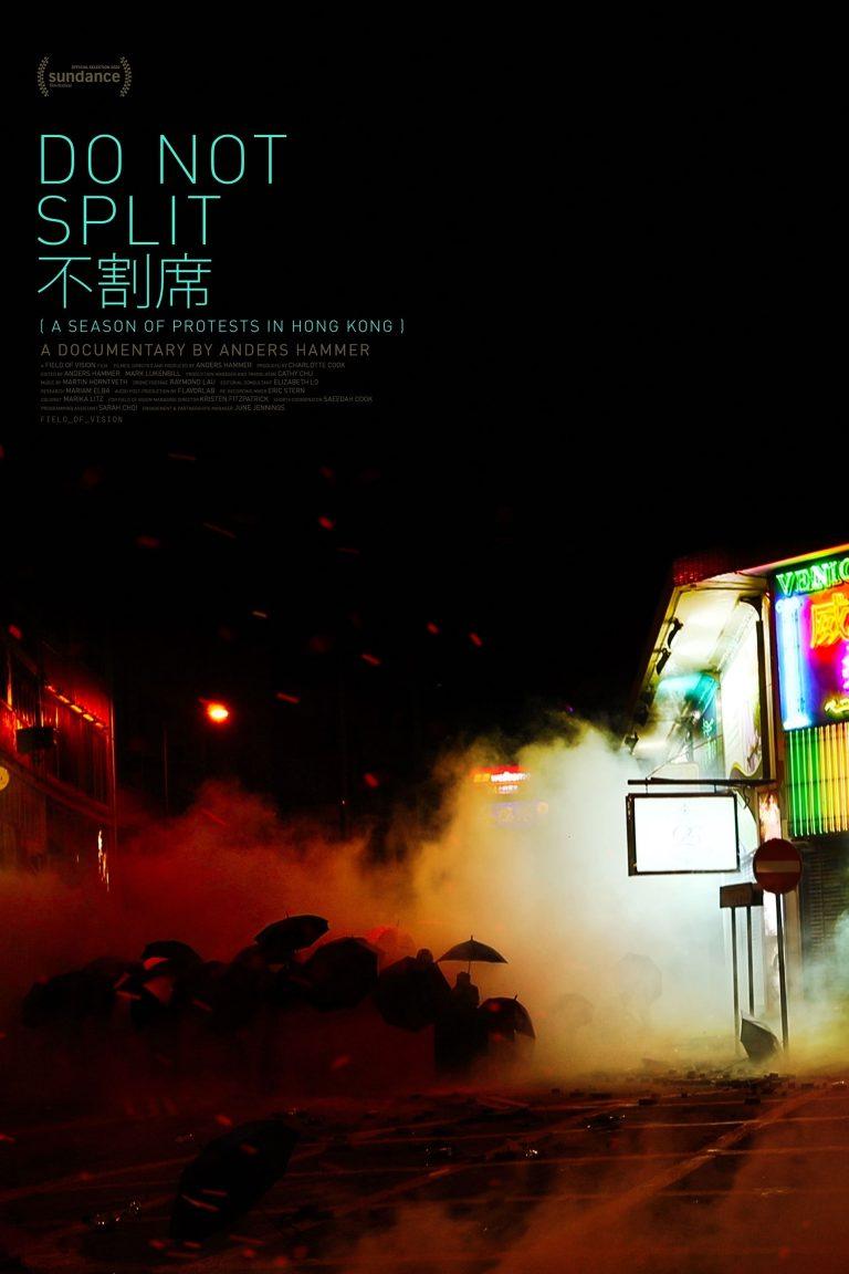 """Poster for the movie """"Do Not Split"""""""