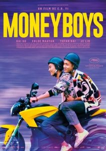 """Poster for the movie """"Moneyboys"""""""